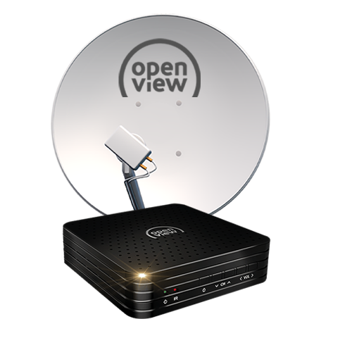 Openview Decoder with Dish